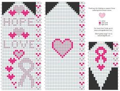 HELP FOR CANCER Breast Cancer Awareness Mittens Knitted Mittens Pattern, Knit Mittens, Knitted Gloves, Knitting Charts, Knitting Patterns, Knitting For Charity, Crochet Chart, Awareness Ribbons, Plastic Canvas Patterns
