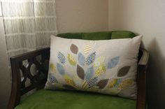 I'm sure I have plenty of fabric lying around to make this beautiful pillow!