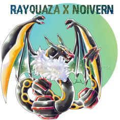 Rayquaza X Noivern by Seoxys6 on DeviantArt