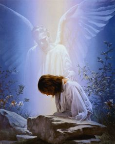 His Angels will comfort you, and bring the message of God's Love to you, wherever you may be. Even so, they did for the King of kings and Lord of lords, during His time of testing, (in the Wilderness), and His time of sorrow and pain.