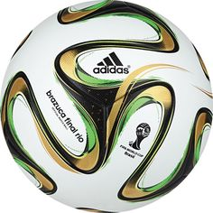 adidas Brazuca FIFA 2014 World Cup Finals Official Match Soccer Ball - model G84000