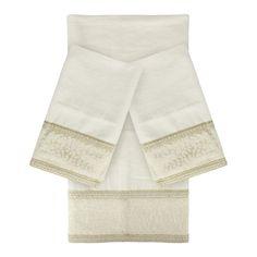 Sherry Kline Cheetah Natural 3-piece Decorative Towel Set - Overstock™ Shopping - Top Rated Sherry Kline Bath Towels