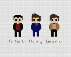Doctor Who Quote Cross Stitch Pattern