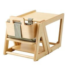 Convertible High Chair - Green | Hindevadgaard Firm of Architects