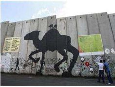 SMS Your Message to Palestinian Street Artists for the West Wall #graffiti trendhunter.com