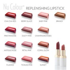 Add the perfect finish to any look with Replenishing Lipstick #makeup #nuskin