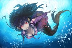 #Dessin sirène par mayo #Manga