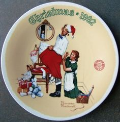 Check out Norman Rockwell The Christmas Surprise Knowles Plate Limited First Edition 1992 on @eBay http://r.ebay.com/Pqg2V4