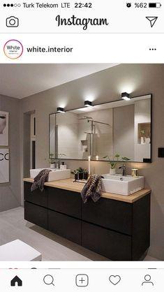 Schöne Spots Bath Design, Bathroom Styling, Master Bathroom, Home Remodeling, House Plans, Sweet Home, New Homes, Room Decor, House Design