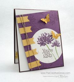Too Kind Garden by nyingrid - Cards and Paper Crafts at Splitcoaststampers