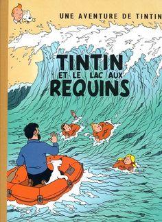 Couverture de Tintin - Pastiches, parodies & pirates -PIR- Tintin et le Lac aux requins