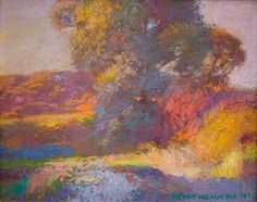 Henry Hensche, Autumn Glory, c. 1970s, originally in the collection of Tom Moore