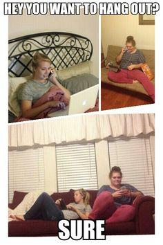 True story! #lazy #life #hangout