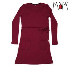 Pregnancy and breastfeeding wool dress Pregnancy Gifts, Wool Dress, Breastfeeding, Raspberry, Gift Ideas, Dresses, Ribe, Vestidos, Baby Feeding