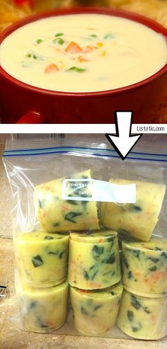#5. Freeze leftover soup into individual sized portions! | 24 Creative Ways To Use Leftovers