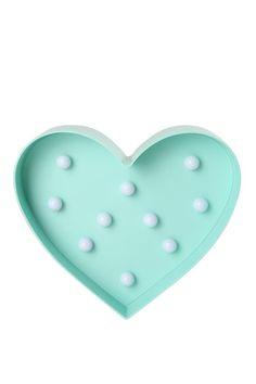 heart marquee light FRANKIE BLUE