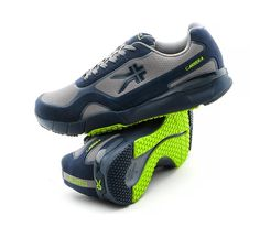 1eafac176e4 Carrera Men s High Performance Running Shoe SlateGray Indigo Lime