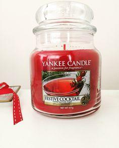 Festive Cocktail #yankeecandle #holidayparty