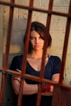 Lauren Cohan (Maggie Greene) - The Walking Dead Glen Walking Dead, Walking Dead Tv Show, Walking Dead Series, Walking Dead Season, Lauren Cohan, Maggie Greene, Glenn Y Maggie, Steven Yeun, Dead Zombie