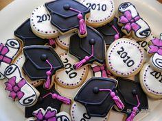 Graduation cookies 009 by thecookielady, via Flickr