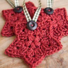 How to Crochet a Star | One Little Bird