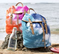 These Backpacks from PB Teen Are Made for the Summer Loving Lady #school trendhunter.com