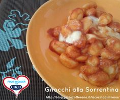 Ricetta #Gnocchi alla #Sorrentina di @milenavillano (http://blog.giallozafferano.it/lacucinadimilena/) #cirio #passionefoodblogger #pomodoro #pomodori #tomato #PullUpAChair