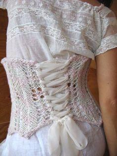 corset de tricô