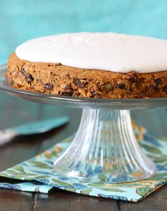 Carrot Cake (grain-free, gluten-free, dairy-free, refined sugar-free)