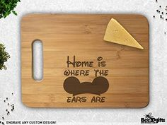 15 Disney Kitchen Gadgets To Cook Up Some Magical Fun Hey Disney lovers! Check out these 15 Disney Kitchen Gadgets To Cook Up Some Magical Fun! Downtown Disney, Walt Disney, Disney Fun, Disney Mickey, Engraved Cutting Board, Personalized Cutting Board, Bamboo Cutting Board, Cutting Boards, The Farm