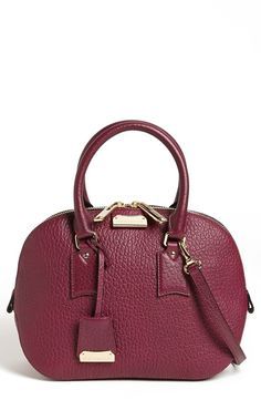 Burberry 'Orchard - Small' Leather Satchel   Nordstrom