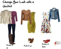 Change your look with a jacket, Imogen Lamport, Inside out Style, Bespoke Image, Wardrobe Therapy, jacket, style, women