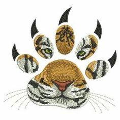 Wild Tigers 02(Lg) machine embroidery designs