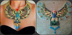 Egypt style necklace