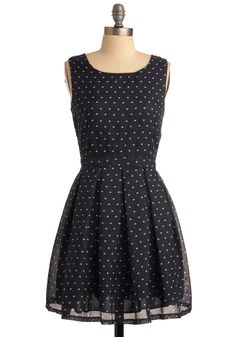 Heart Will Go On Dress. Admit it, youre a romantic at heart! #blue #modcloth