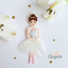 "200 Beğenme, 14 Yorum - Instagram'da Lili (@lili_azalee): ""Hello ! Voici Pinguinette ou mademoiselle banquise !  #jenfiledesperlesetjassume #miyuki…"""