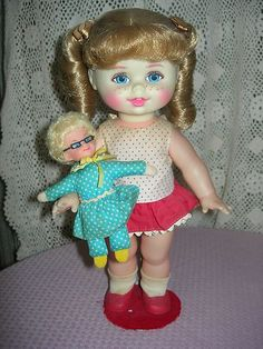 My favorite doll I had in the 1960's was Buffy
