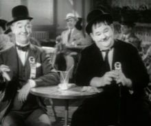 """Oliver """"Ollie"""" Hardy (born Norvell Hardy) (January 18, 1892 – August 7, 1957) was an American comic actor famous as one half of Laurel and Hardy, the classic double act that began in the era of silent films and lasted 25 years, from 1927 to 1951. He was credited with his first film, Outwitting Dad, in 1914. In some of his early works, he was billed as Babe Hardy, using his nickname."""
