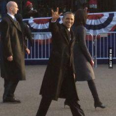 Obama rocks!