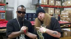 """Things got a little more interesting deep in the heart of Missouri.    Slumerican recording artist Rittz recently stopped by the Strange Music HQ located in Kansas City, MO while in town as part of The Revival Tour 2012. This photo of Rittz and Tech N9ne was snapped inside the Strange Music HQ and gives fans more reason to look forward to their collaboration on the upcoming remix of """"Bloody Murdah"""".  Stay tuned for more on Tech N9ne and Rittz!"""
