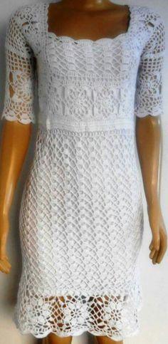 Crochet For Boys, Crochet Top, Knitting Patterns, Crochet Patterns, Crochet Wedding Dresses, Knit Vest Pattern, Knot Dress, Crochet Woman, Crochet Clothes