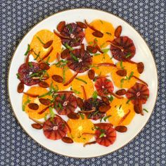 Recipe: Orange, Almond & Date SaladRecipes from The Kitchn
