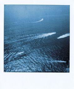 "Enlarged Prints of original Polaroids taken in Europe, 1/4"" Plexi front mount, ready to hang! on Etsy, $250.00"