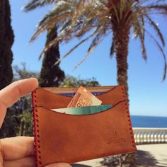 #marseille #instamarseille #france #handmade #madeinfrance #leather #leathercraft #leathergoods #wallet #everyday #sea #sun #etsy by macgeek13 #tailrs