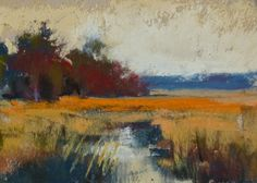 6 Steps to a Mini Pastel Painting, painting by artist Karen Margulis
