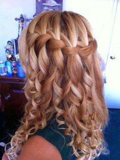 Nice long hair style