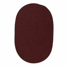 """Colonial Mills Wool Solids Wl52 1'10"""" x 2'10"""" Holly Berry Oval Area Rug by Colonial Mills. $51.99. Wool Solids WL52 holly berry rug by Colonial Mills Inc Rugs is a braided rug made from synthetic. It is a 2 x 3 area rug oval in shape. The manufacturer describes the rug as a holly berry 1'10"""" x 2'10"""" area rug. Buy discount rugs with Buy Area Rugs .com SKU wl52r022x034