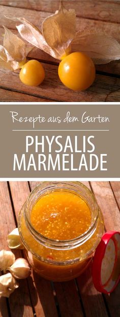 Rezept: Einfache Physalis-Marmelade – gr ร ผ neliebe.de – ร … - Obst Rezepte Chutneys, Healthy Eating Tips, Healthy Nutrition, Jam And Jelly, Food Club, Vegetable Drinks, Food Menu, Easy Desserts, Sweet Recipes