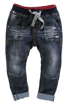 Buy Rib Waist Contrast Ticking Jeans (3mths-6yrs) from the Next UK online shop