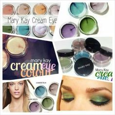 Mary Kay Cream Eye Colors  www.marykay.com/ereed74033